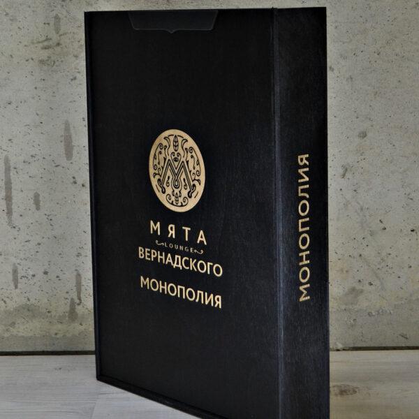 Коробка для игры монополия