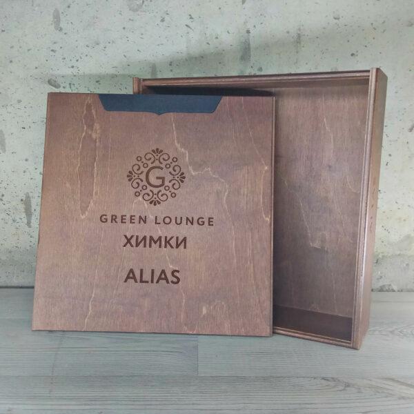 """Коробка для игры """"Alias"""" орех"""
